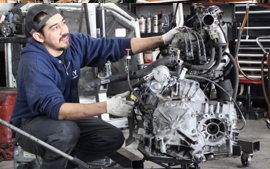 Our ASE certified car mechanics are engine experts